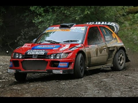 ANDY BURTONS GROUP B PEUGEOT COSWORTH RALLY CAR MUSIC VID MADE - Car rally near me