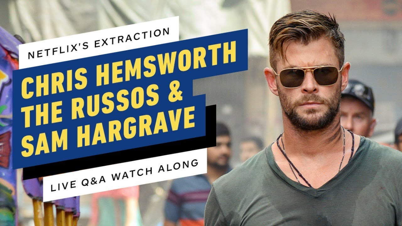 Netflix's Extraction Watch Party w/ Chris Hemsworth, The Russos & Sam Hargrave thumbnail