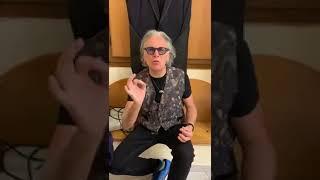 Riccardo Fogli saluta i terlizzesi