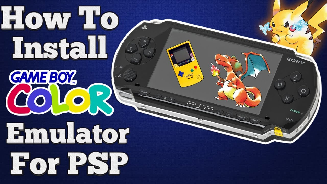 How To Install Gameboy Color Emulator For Psp Cfw 2017