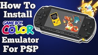 How to Install Gameboy Color Emulator for PSP | CFW 2017