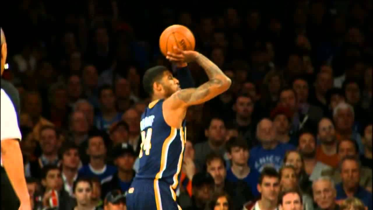 Paul George Shooting Form - YouTube