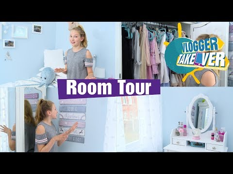 Vlogger Takeover | ROOM TOUR - Coco's World! 🦄 | Disney Channel UK