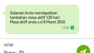GRATIS MASA AKTIF XL HINGGA 30 HARI 100% GRATIS Rp.0 TERBARU 2017
