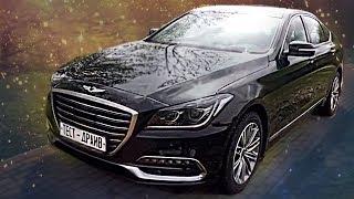 Genesis G80 2017 года Обзор автомобиля и Тест-драйв, Технические характеристики Pro Автомобили