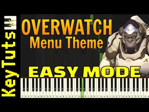 Learn to Play Overwatch Menu Theme - Easy Mode