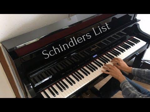 Schindlers List - Main Theme Piano (John Williams)
