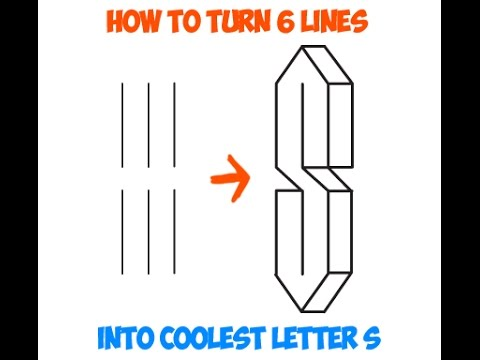 Howtodraw A Cool S Cool Logo Howtodraw Youtube
