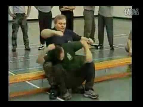Fierce Russian combat martial art