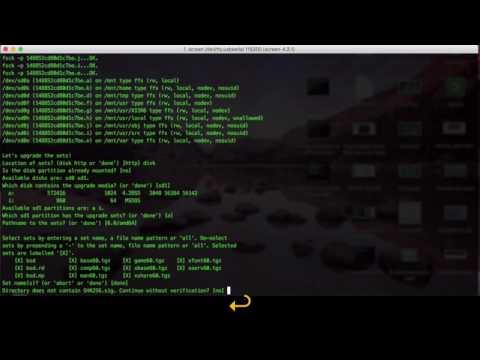 Upgrade OpenBSD on APU.2c4
