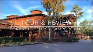 Walt Disney World Fort Wilderness Campground Tour & Review