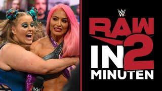 WWE RAW in 2 Minuten | Vermisstenanzeige | 14.06.21