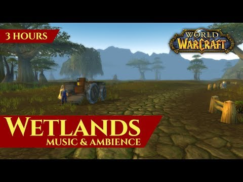 Vanilla Wetlands Music & Ambience (3 hours, World of Warcraft Classic)