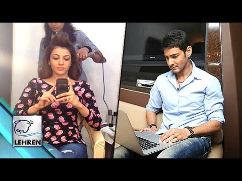 LOOK! What Celebs Do In Their VANITY VAN  | Lehren Telugu