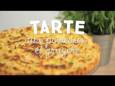 tarte-aux-poireaux-et-gruyère---cuisineaz