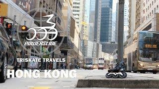 Triskate Travels Hong Kong - Lino on HC Evo Pro inline skates