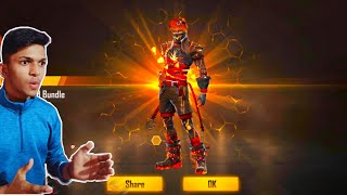 I Got Flaming Red Bundle From New Incubator And New Trick To Get Free Diamonds At Free Fire 2019