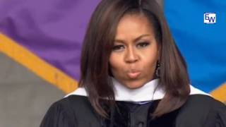 Michelle Obama scorched Trump at City College of NY Commencement Speech