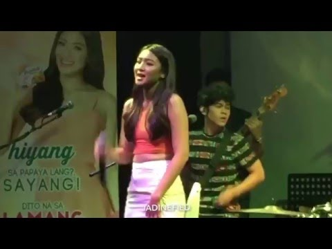 Nadine Lustre - Cant Keep My Hands To Myself
