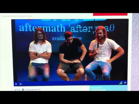 HILLSONG UNITED: AFTERMATH LIVE STREAM INTERVIEW