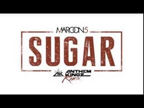 Maroon 5 - Sugar cover  [Video Edit 1 hour loop]