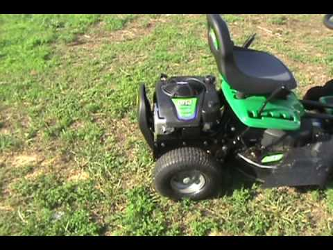 weed eater one riding mower redneck review youtube rh youtube com Weed Eater Lawn Mower Throttle Diagrams Craftsman Lawn Mower Model