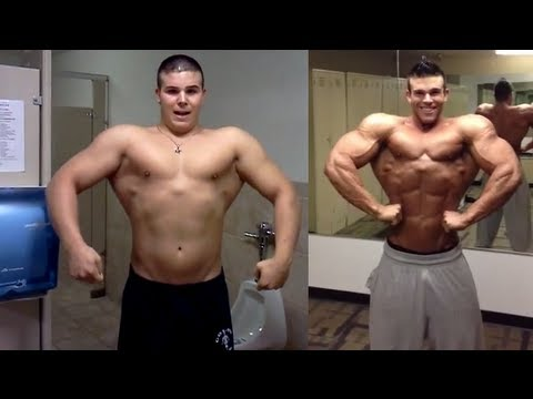 CRAZY STEROID TRANSFORMATION - BEFORE AND AFTER (LESS THAN A YEAR!)