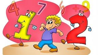 Die Nummern für Kinder - Kinder Bildungs Videos