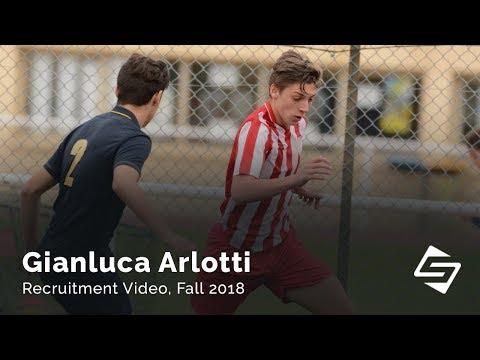 Gianluca LB/LW - Soccer recruitment video, Fall 2018