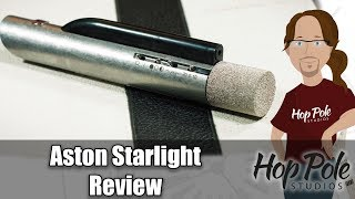 Aston Starlight Mic Review - LASER MICROPHONE?
