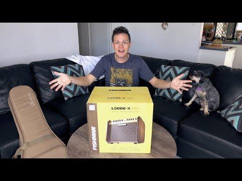 Fishman Loudbox Mini Unboxing & First Impressions