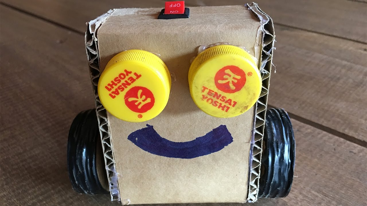 How to Make a Diy Simple robot for kids - Easy ideas ...