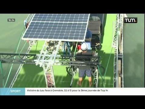Un bateau 100% solaire fait escale à la Confluence
