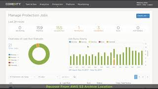Product Demo: Archive your Data with Cohesity to the AWS Cloud