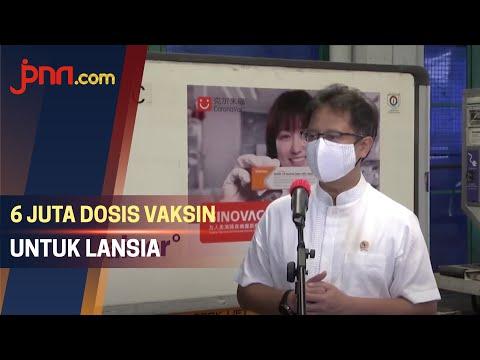 6 Juta Dosis Vaksin Covid-19 Datang, Fokus untuk Lansia