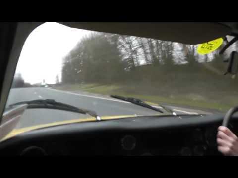 Lotus Elan 2+2 130/5 goes for a drive