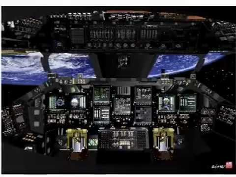 "Space Shuttle Cockpit ""hybrid picture"" - YouTube"