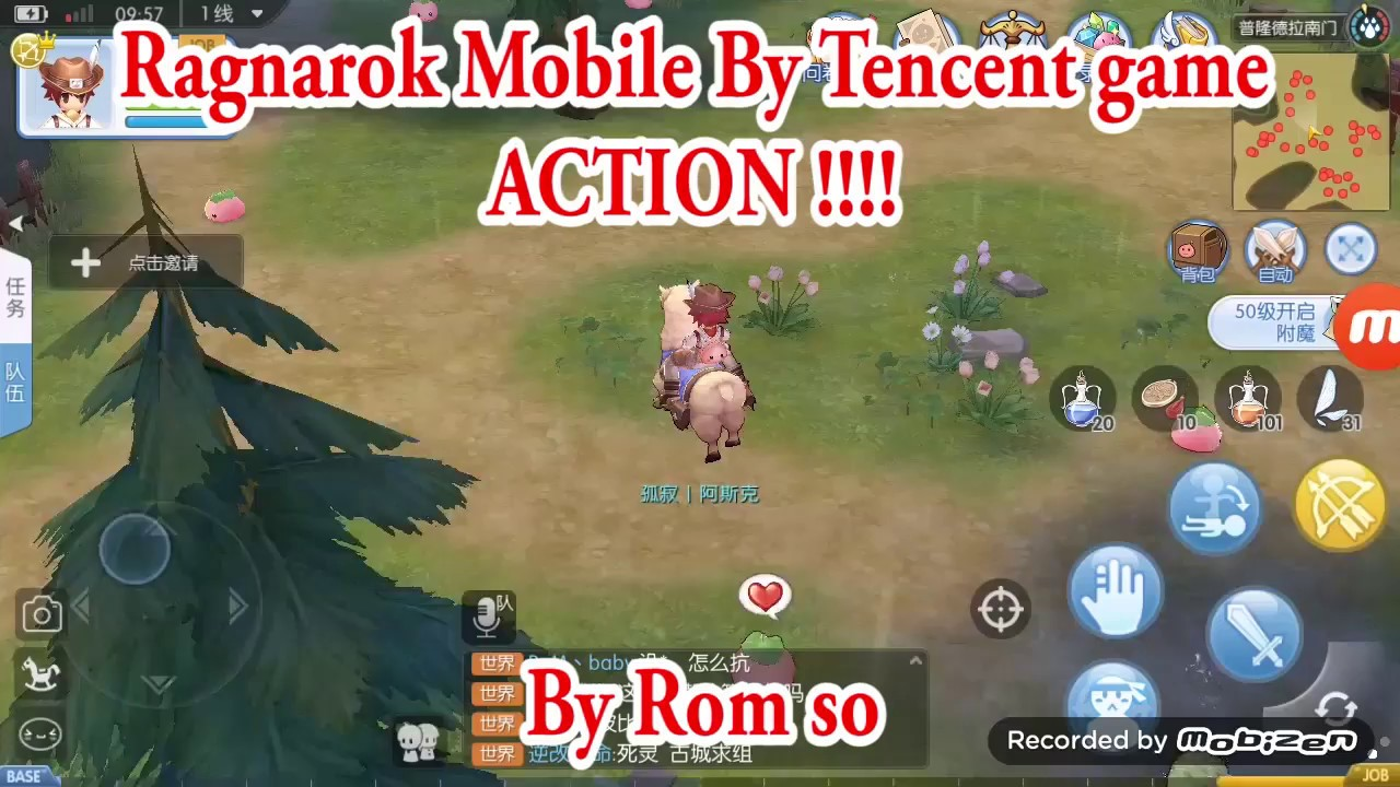 Ragnarok Mobile By Tencent - First Test [ ACTION !!! ]