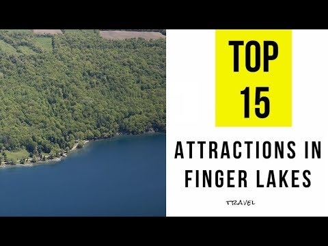 TOP 15. Natural Attractions In Finger Lakes, New York