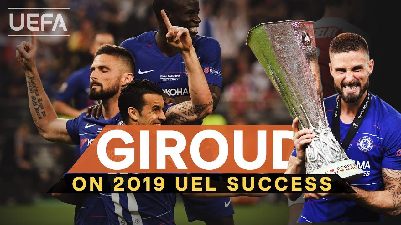 #UEL, CHELSEA, ARSENAL: Olivier Giroud recalls memorable 2019 final