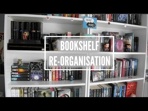 BOOKSHELF RE ORGANISATION 2