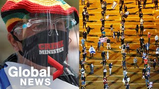 Coronavirus outbreak: Global protests get creative during lockdowns, bans on mass gatherings