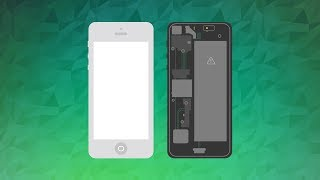 After Effects: iPhone Assembly - Flat Animation