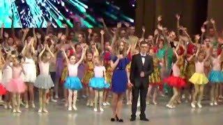 Выступление Варвары на отчетном концерте хореографической школы Майи Плисецкой 30.04.2016
