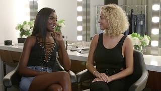 Leomie Anderson and Rose Bertram On-Set Q&A | GOOD AMERICAN