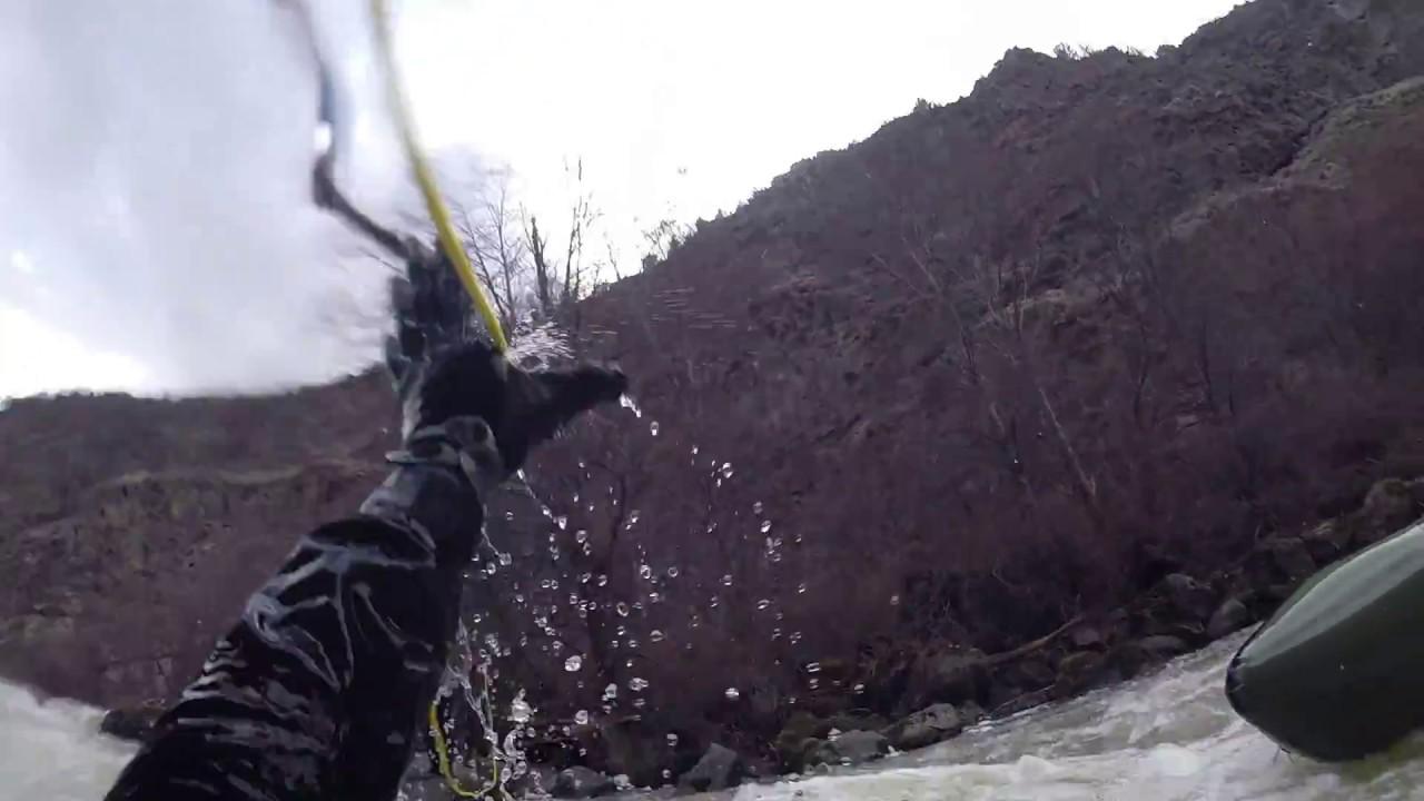 Packrafting Lower Crooked River Oregon Swim Youtube