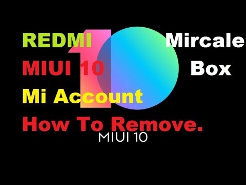 Redmi Note 5 Plus(MEI7) Miui 10 Mi Account How To Remove,With
