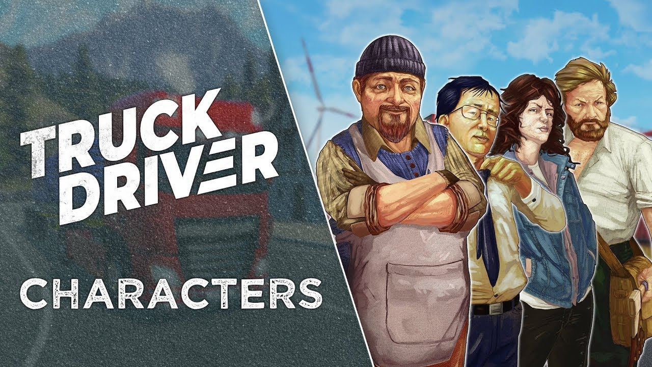 Truck Driver update video invites you to meet the locals | PC Invasion