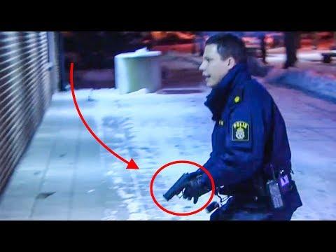 Polisen hotar med PISTOL! | STORYTIME