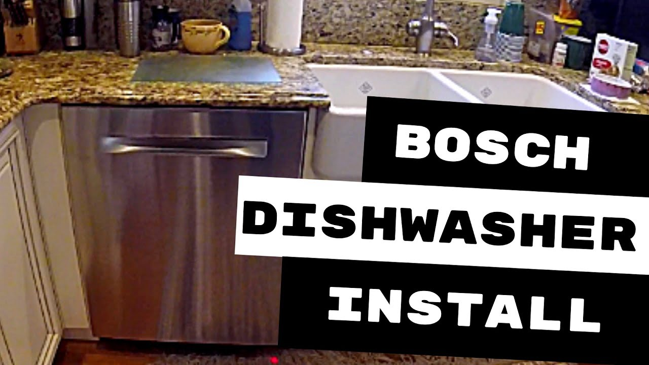 Bosch Dishwasher Installation Avoid These 3 Mistakes Youtube